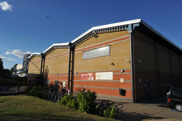 Shentie at Staines Leisure Centre